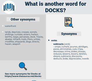 docks, synonym docks, another word for docks, words like docks, thesaurus docks