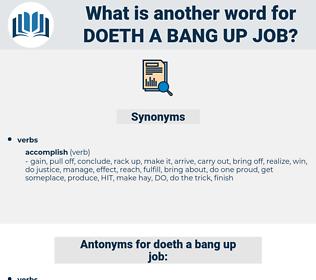 doeth a bang-up job, synonym doeth a bang-up job, another word for doeth a bang-up job, words like doeth a bang-up job, thesaurus doeth a bang-up job