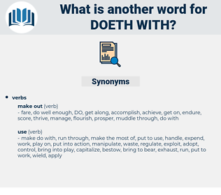 doeth with, synonym doeth with, another word for doeth with, words like doeth with, thesaurus doeth with