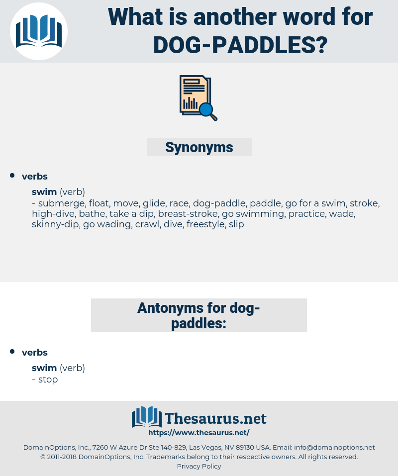 dog-paddles, synonym dog-paddles, another word for dog-paddles, words like dog-paddles, thesaurus dog-paddles