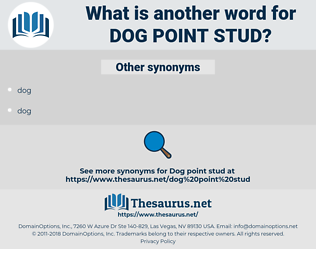 dog point stud, synonym dog point stud, another word for dog point stud, words like dog point stud, thesaurus dog point stud