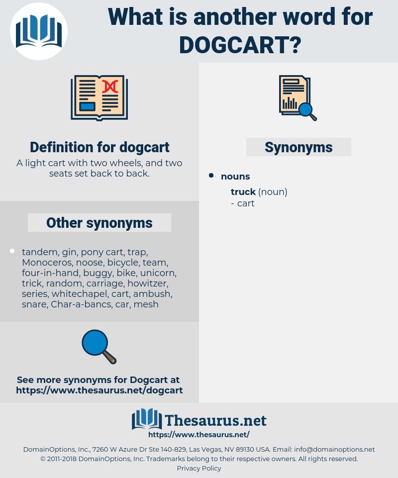 dogcart, synonym dogcart, another word for dogcart, words like dogcart, thesaurus dogcart