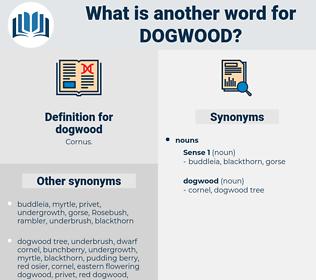 dogwood, synonym dogwood, another word for dogwood, words like dogwood, thesaurus dogwood