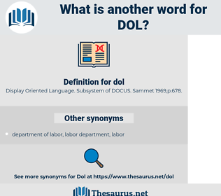 dol, synonym dol, another word for dol, words like dol, thesaurus dol