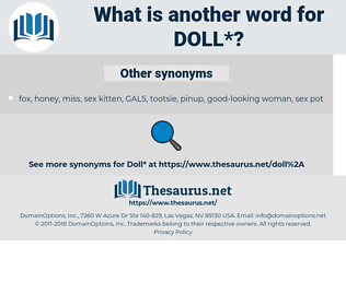 doll, synonym doll, another word for doll, words like doll, thesaurus doll