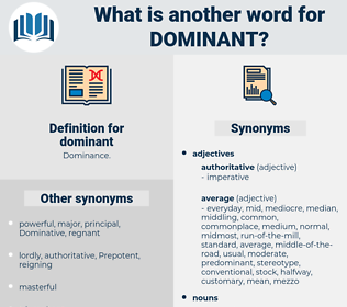 dominant, synonym dominant, another word for dominant, words like dominant, thesaurus dominant