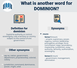 dominion, synonym dominion, another word for dominion, words like dominion, thesaurus dominion