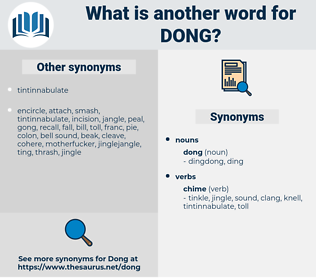 dong, synonym dong, another word for dong, words like dong, thesaurus dong
