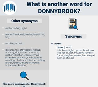 donnybrook, synonym donnybrook, another word for donnybrook, words like donnybrook, thesaurus donnybrook