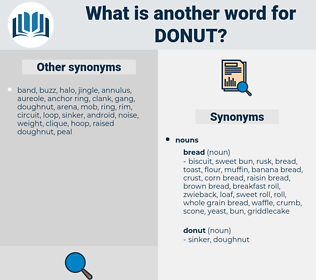donut, synonym donut, another word for donut, words like donut, thesaurus donut