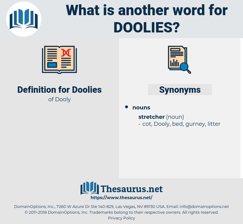 Doolies, synonym Doolies, another word for Doolies, words like Doolies, thesaurus Doolies