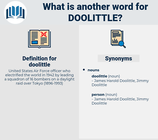 doolittle, synonym doolittle, another word for doolittle, words like doolittle, thesaurus doolittle