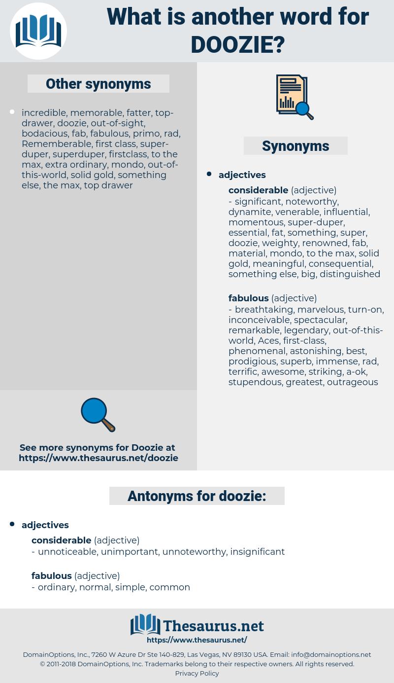doozie, synonym doozie, another word for doozie, words like doozie, thesaurus doozie
