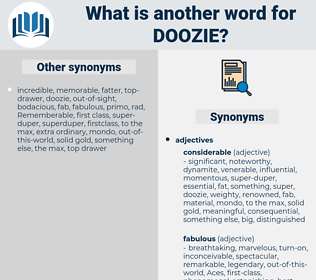doozie, synonym doozie, another word for doozie, words like doozie, thesaurus doozie