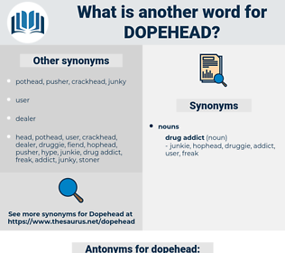 dopehead, synonym dopehead, another word for dopehead, words like dopehead, thesaurus dopehead