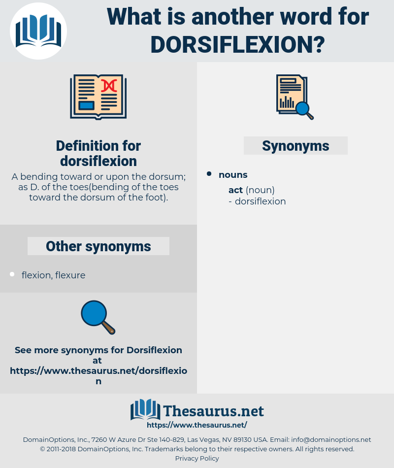 dorsiflexion, synonym dorsiflexion, another word for dorsiflexion, words like dorsiflexion, thesaurus dorsiflexion
