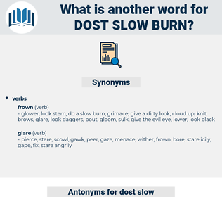 dost slow burn, synonym dost slow burn, another word for dost slow burn, words like dost slow burn, thesaurus dost slow burn
