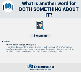 doth something about it, synonym doth something about it, another word for doth something about it, words like doth something about it, thesaurus doth something about it