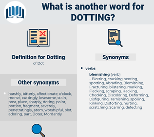 Dotting, synonym Dotting, another word for Dotting, words like Dotting, thesaurus Dotting