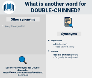 double-chinned, synonym double-chinned, another word for double-chinned, words like double-chinned, thesaurus double-chinned