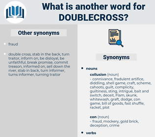 doublecross, synonym doublecross, another word for doublecross, words like doublecross, thesaurus doublecross