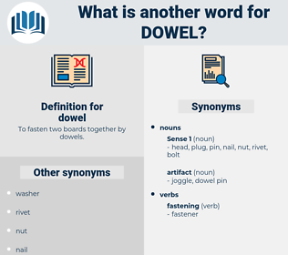 dowel, synonym dowel, another word for dowel, words like dowel, thesaurus dowel