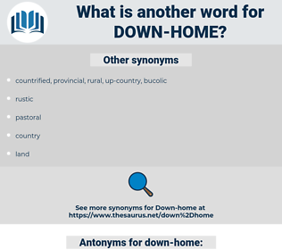 down home, synonym down home, another word for down home, words like down home, thesaurus down home