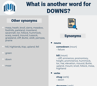 Downs, synonym Downs, another word for Downs, words like Downs, thesaurus Downs