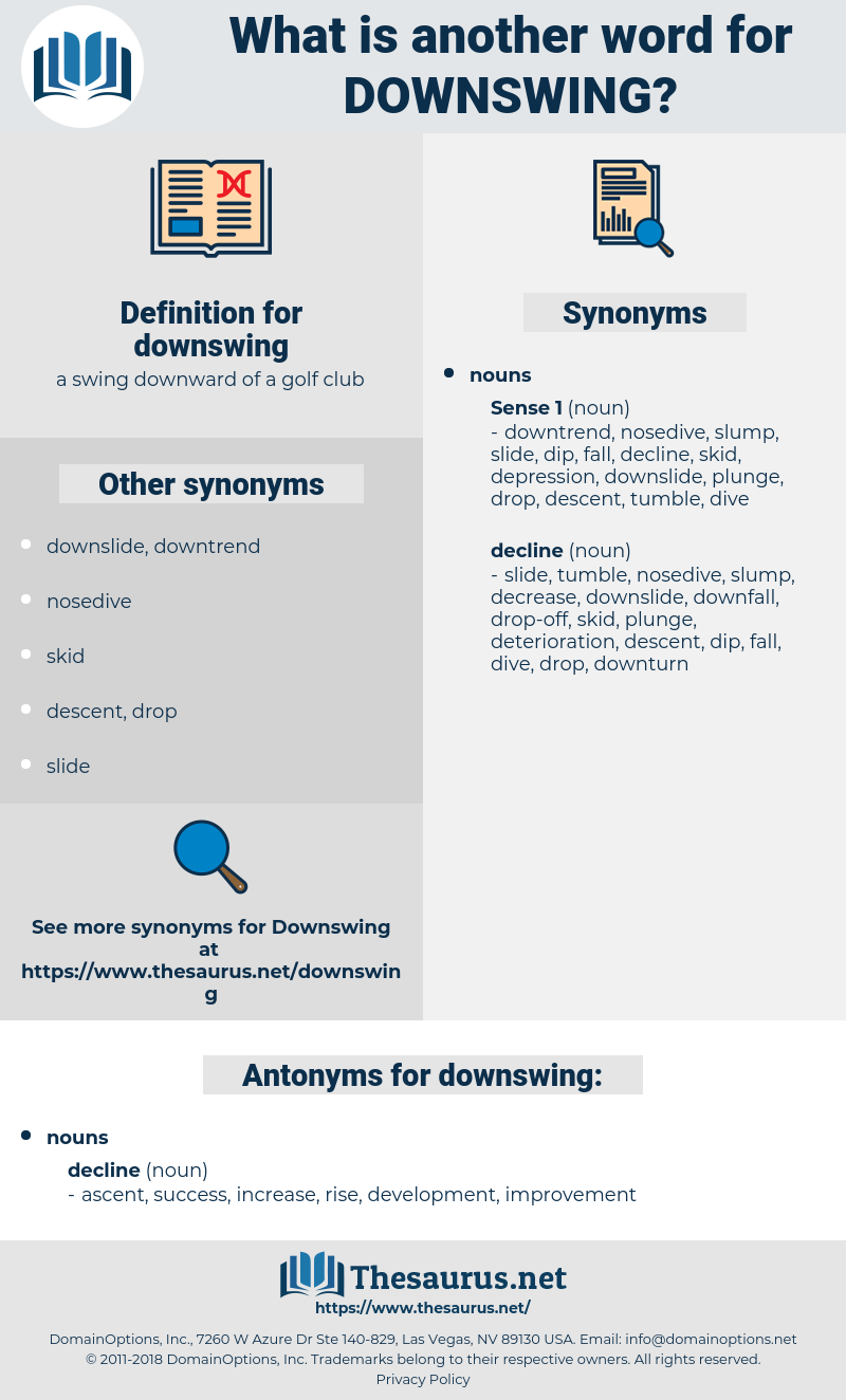downswing, synonym downswing, another word for downswing, words like downswing, thesaurus downswing