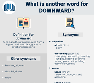 downward, synonym downward, another word for downward, words like downward, thesaurus downward
