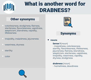 drabness, synonym drabness, another word for drabness, words like drabness, thesaurus drabness