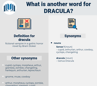 dracula, synonym dracula, another word for dracula, words like dracula, thesaurus dracula