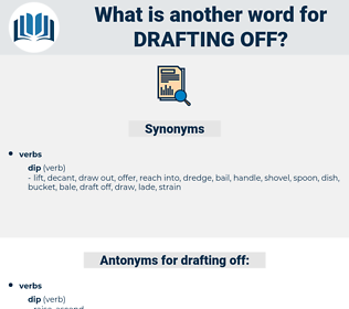 drafting off, synonym drafting off, another word for drafting off, words like drafting off, thesaurus drafting off