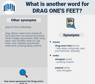 drag one's feet, synonym drag one's feet, another word for drag one's feet, words like drag one's feet, thesaurus drag one's feet
