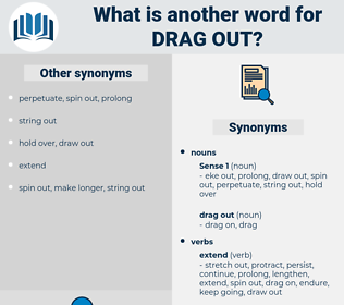 drag out, synonym drag out, another word for drag out, words like drag out, thesaurus drag out