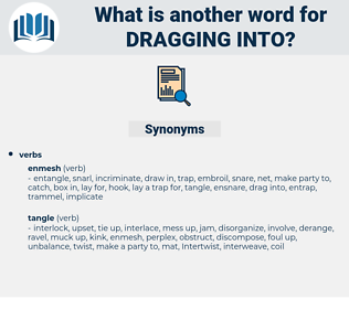 dragging into, synonym dragging into, another word for dragging into, words like dragging into, thesaurus dragging into