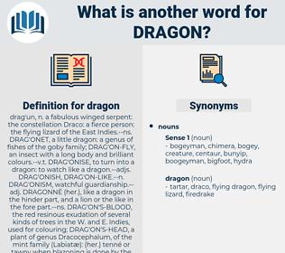 dragon, synonym dragon, another word for dragon, words like dragon, thesaurus dragon