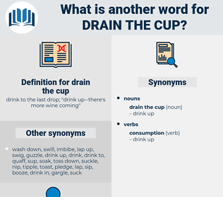 drain the cup, synonym drain the cup, another word for drain the cup, words like drain the cup, thesaurus drain the cup