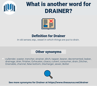 Drainer, synonym Drainer, another word for Drainer, words like Drainer, thesaurus Drainer
