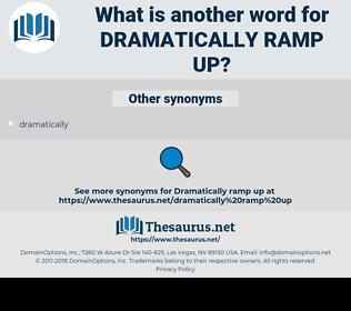 dramatically ramp up, synonym dramatically ramp up, another word for dramatically ramp up, words like dramatically ramp up, thesaurus dramatically ramp up