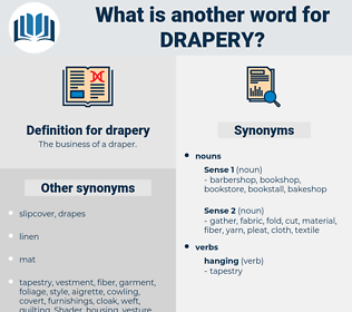 drapery, synonym drapery, another word for drapery, words like drapery, thesaurus drapery