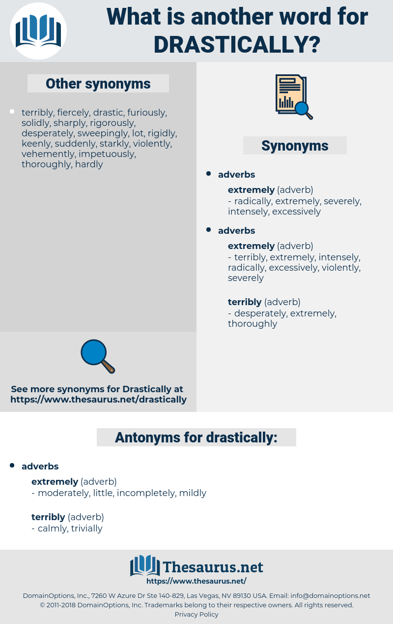 drastically, synonym drastically, another word for drastically, words like drastically, thesaurus drastically