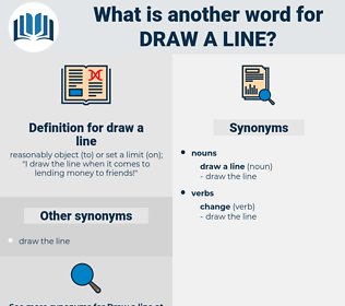 draw a line, synonym draw a line, another word for draw a line, words like draw a line, thesaurus draw a line