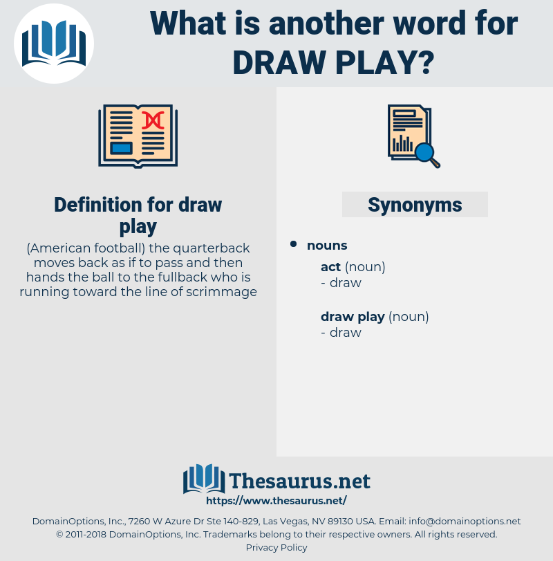 draw play, synonym draw play, another word for draw play, words like draw play, thesaurus draw play