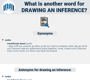 drawing an inference, synonym drawing an inference, another word for drawing an inference, words like drawing an inference, thesaurus drawing an inference