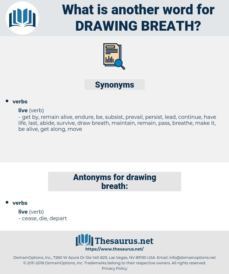 drawing breath, synonym drawing breath, another word for drawing breath, words like drawing breath, thesaurus drawing breath