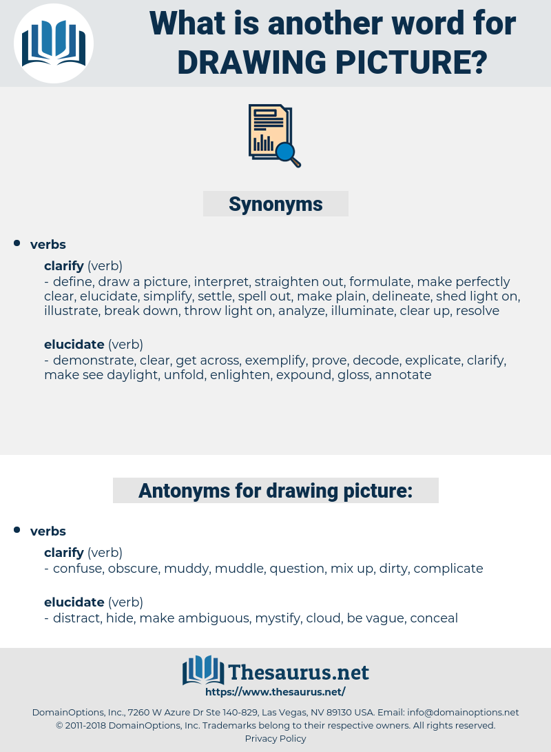 drawing picture, synonym drawing picture, another word for drawing picture, words like drawing picture, thesaurus drawing picture