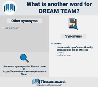 dream-team, synonym dream-team, another word for dream-team, words like dream-team, thesaurus dream-team