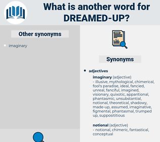dreamed-up, synonym dreamed-up, another word for dreamed-up, words like dreamed-up, thesaurus dreamed-up