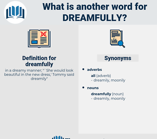 dreamfully, synonym dreamfully, another word for dreamfully, words like dreamfully, thesaurus dreamfully